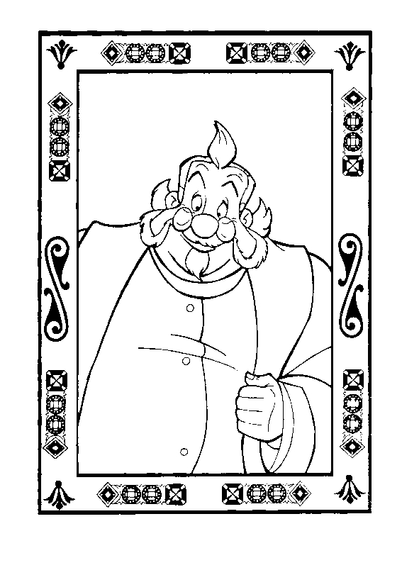 Drawing 18 from Anastasia coloring page to print and coloring