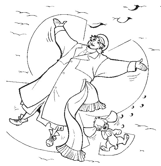 Drawing 20 from Anastasia coloring page to print and coloring