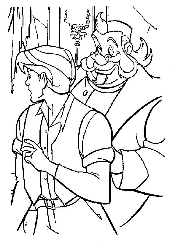 Dibujo 24 de Anastasia para imprimir y colorear
