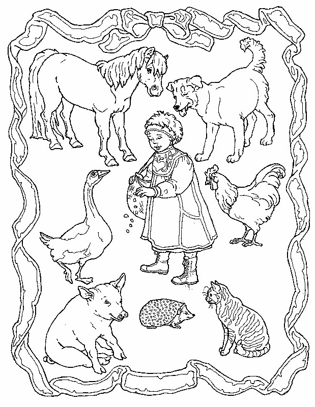 Disegno 16 di anatre da stampare e colorare