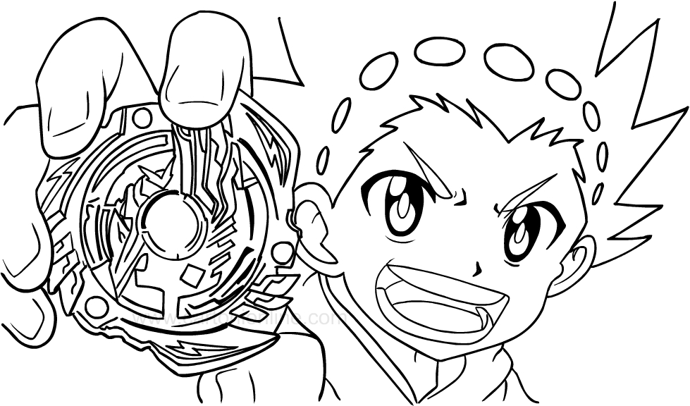 Beyblade burst coloring pages coloring pages for Beyblade burst coloring pages