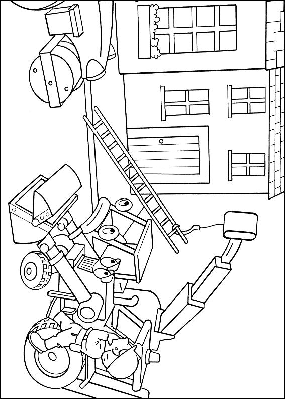Coloriage 10 de Bob le bricoleur à imprimer et colorier