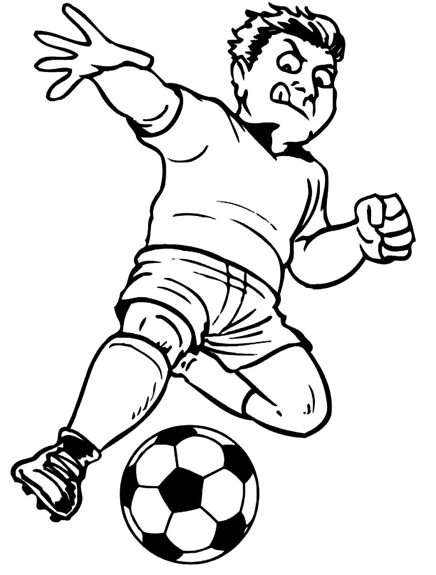Coloriage 15 des Football is imprimer en colorier