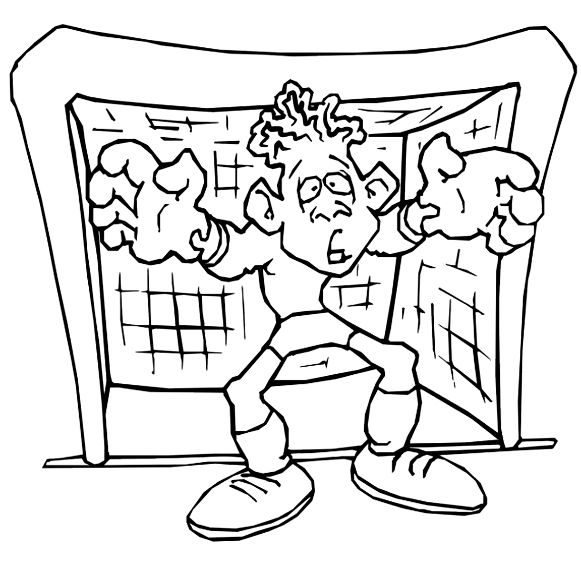 Coloriage 23 des Football is imprimer en colorier