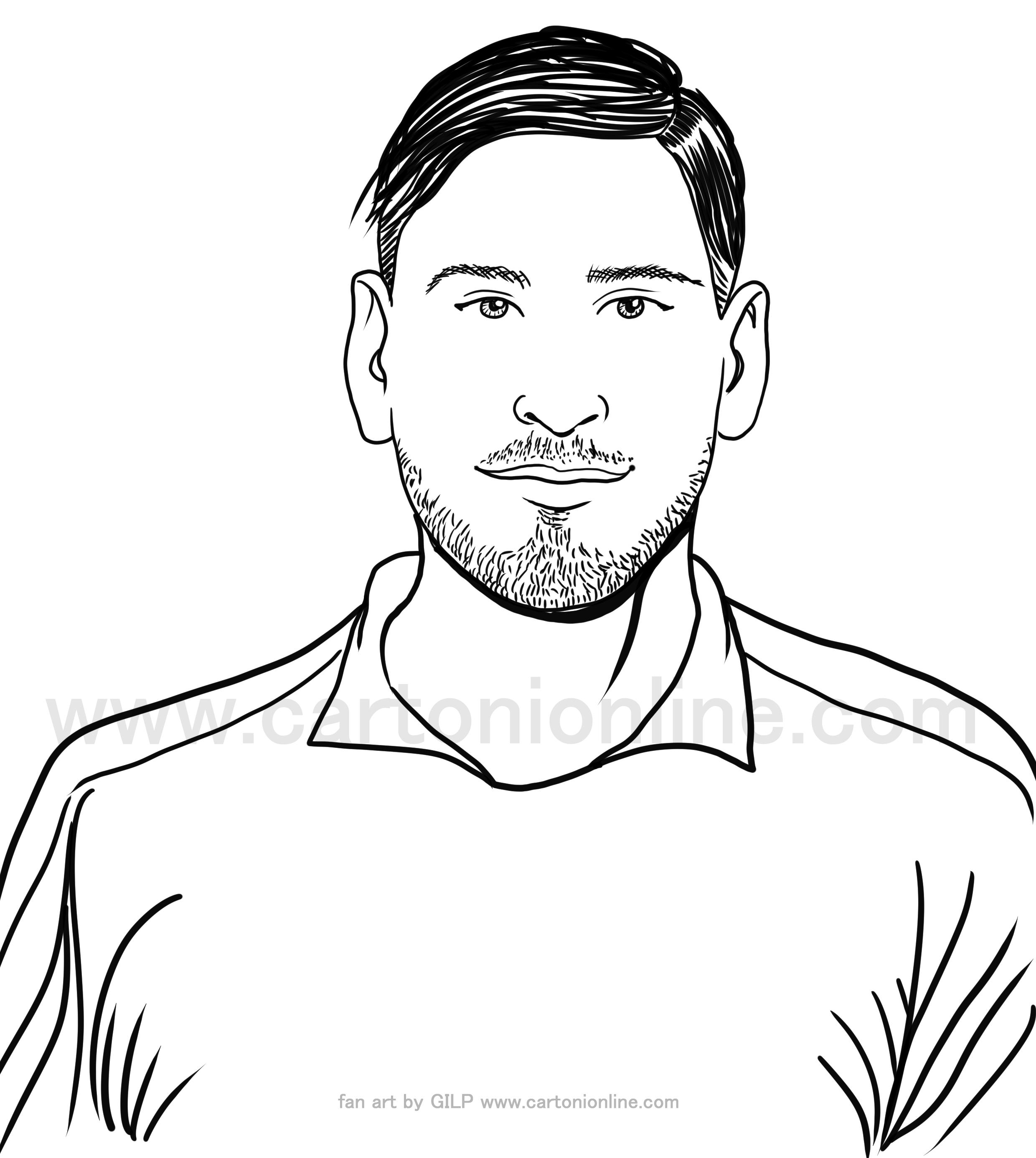 Desenho de Gianluigi Donnarumma de jogadores de futebol da itália para imprimir e colorir