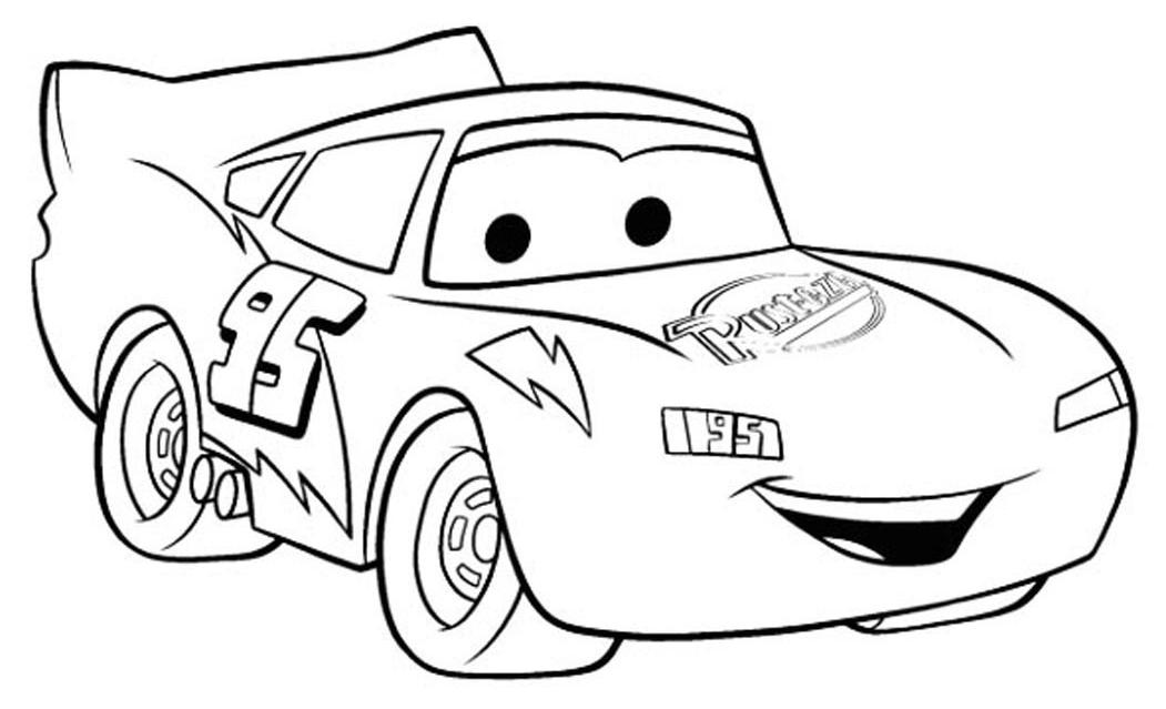 Disegno di cars con saetta mcqueen da colorare for Disegno di cars 2 da colorare