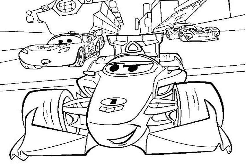 pixar movie cars coloring pages - photo#16