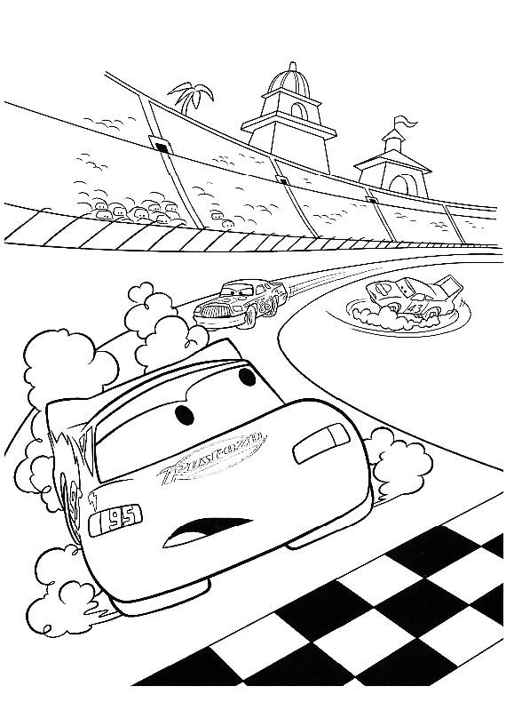 Cars 2 I Disegni Da Colorare Della Disney Classy World