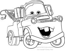 Disegni Da Colorare Di Cars 2 Gratis.Disegni Di Cars Da Colorare