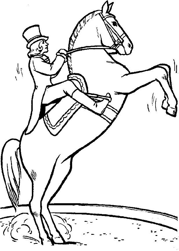Disegno 13 di cavalli da stampare e colorare