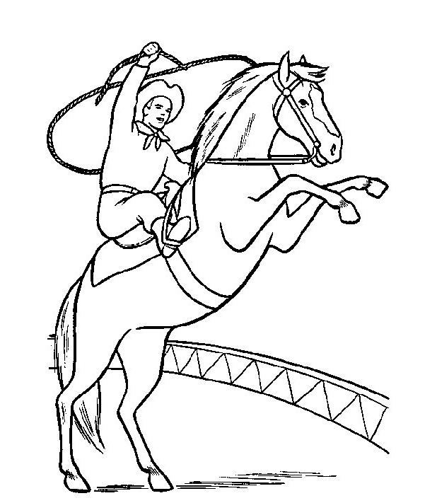 Desenho 15 De Cavalos Para Colorir