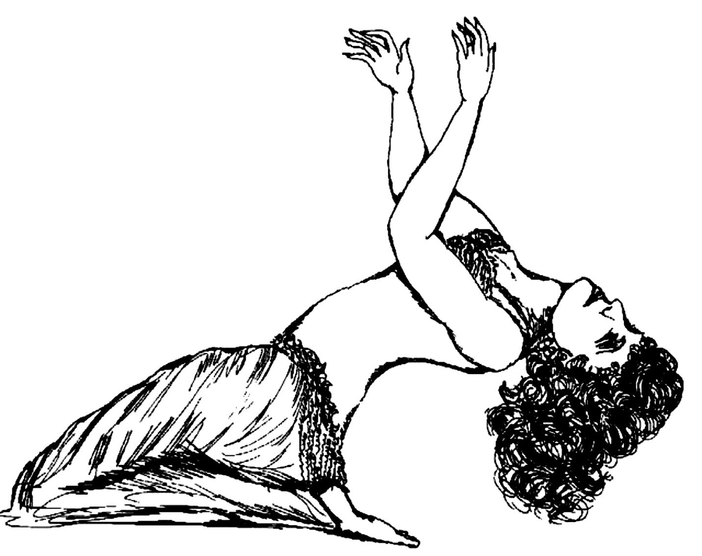 Desenho 9 de Dançar para imprimir e colorir
