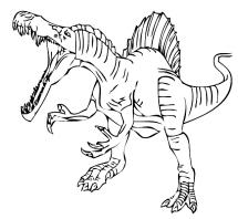 Ausmalbilder Dinosaures