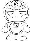 Coloriages Doraemon