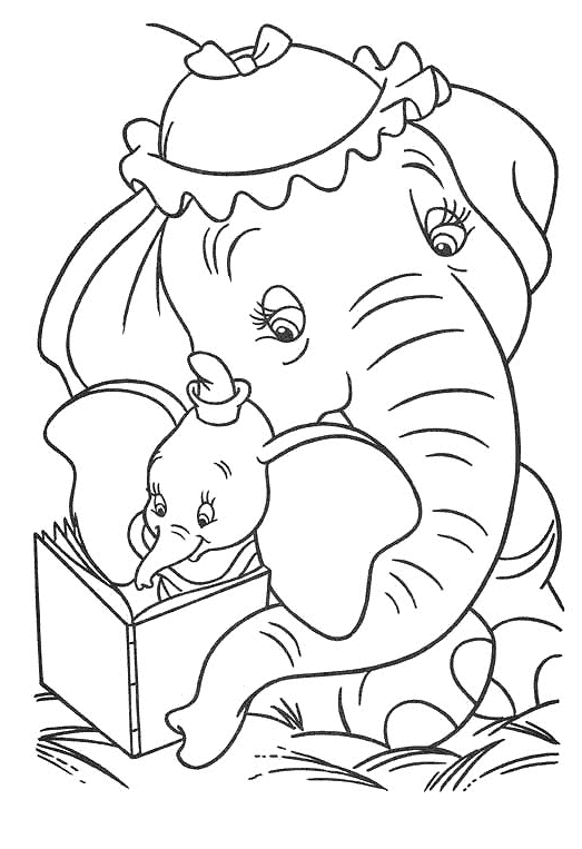 Coloriage 13 De Dumbo