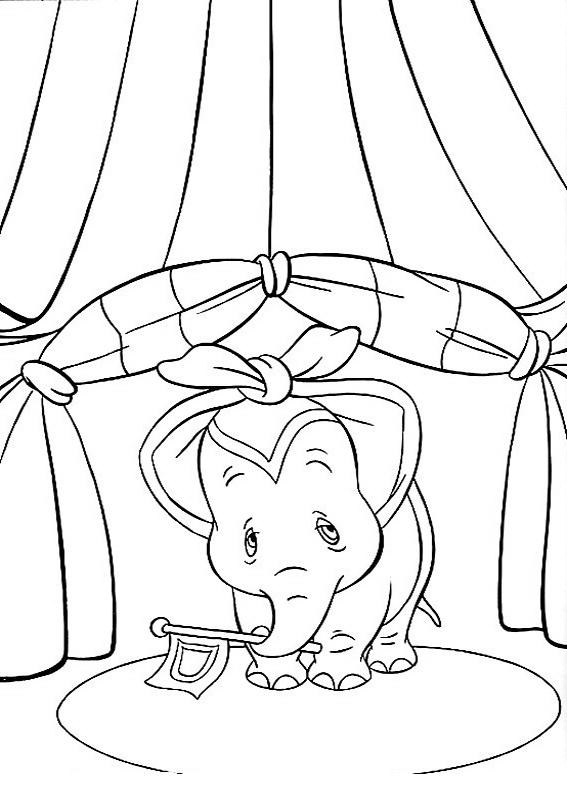 Coloriage 21 De Dumbo