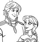 クリストフとアンナによる描画-凍結