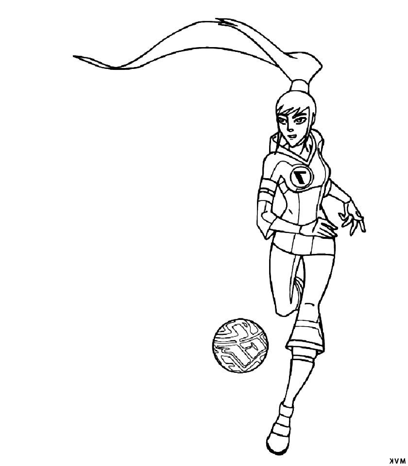 Suunnittelu 1 from Galactik Football värityskuvat tulostaa ja värittää