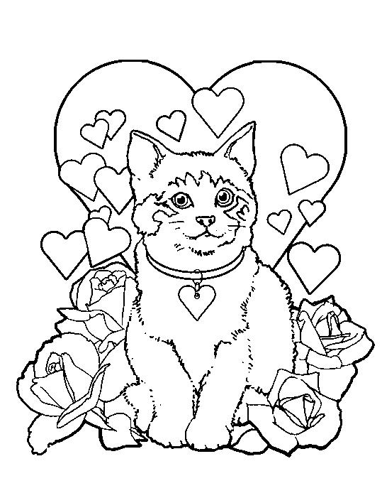 ausmalbilder 10 von katzen