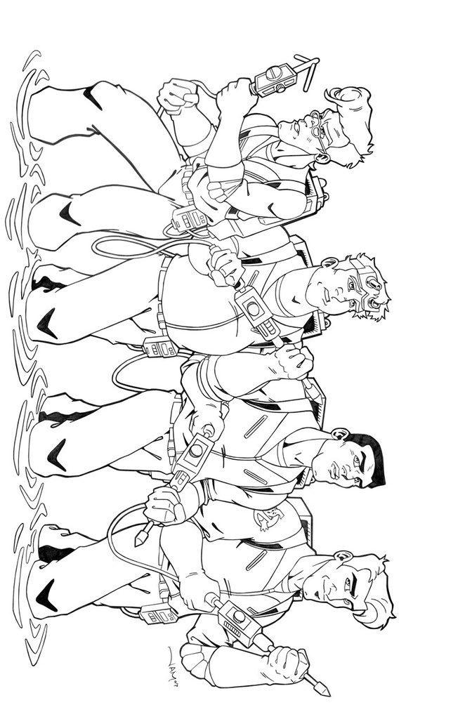 Suunnittelu 3 from Ghostbusters värityskuvat tulostaa ja värittää
