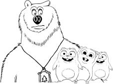 Disegni da colorare sui cartoni animati for Disegni zig e sharko