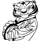 Disegni Di Kung Fu Panda Da Colorare