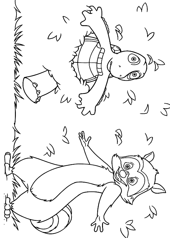 over the hedge coloring sheets - Yahoo Image Search Results ... | 783x558