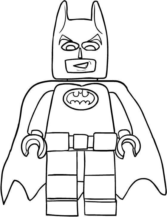 Disegno Di Batman Di Lego Movie Da Colorare