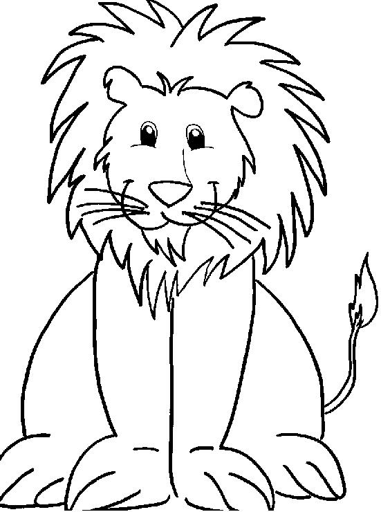 Disegno 20 di leoni da stampare e colorare