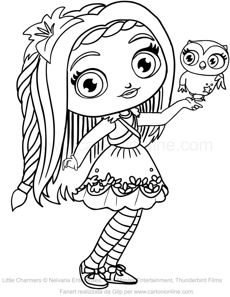 Disegno di posie delle little charmers da colorare - Coloriage gratuit mini sorciere ...