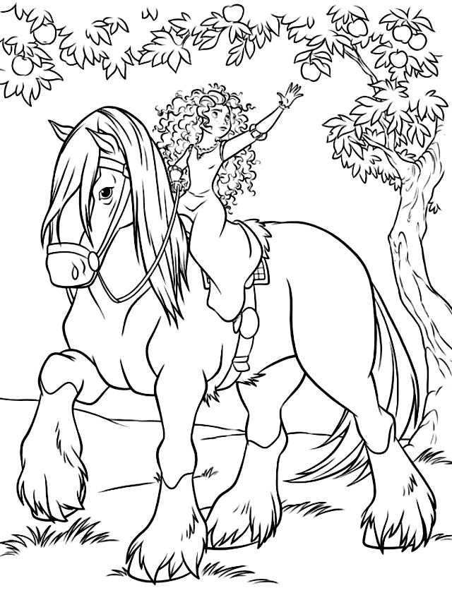 Disegni Da Colorare E Stampare Cavalli