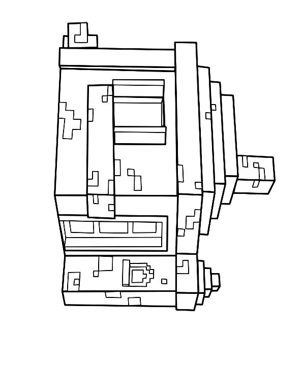 Coloriage11deMinecraft imprimeretcolorier