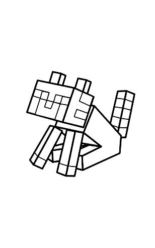 Disegno 20 Di Minecraft Da Colorare