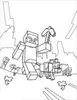 Disegni Di Minecraft Da Colorare