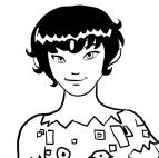 Desenho de Mo para colorir e imprimir