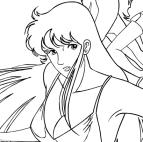 Disegni Da Colorare Del Cartone Animato Occhi Di Gatto.Disegni Da Colorare Anime E Manga