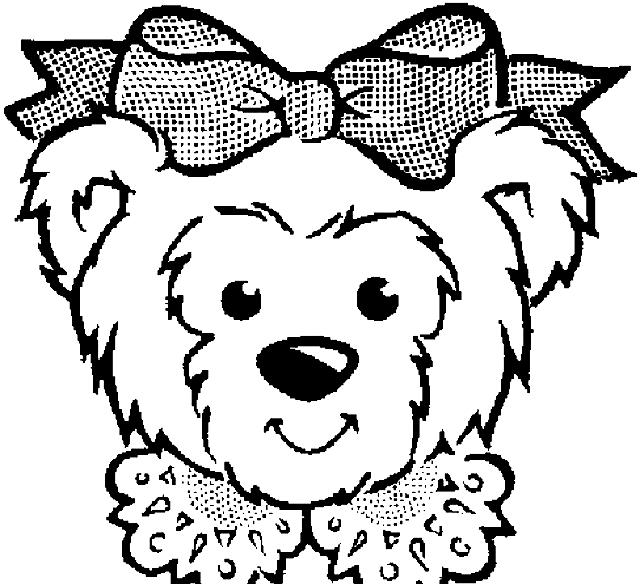 Coloriage 12 des Ours à imprimer et colorier