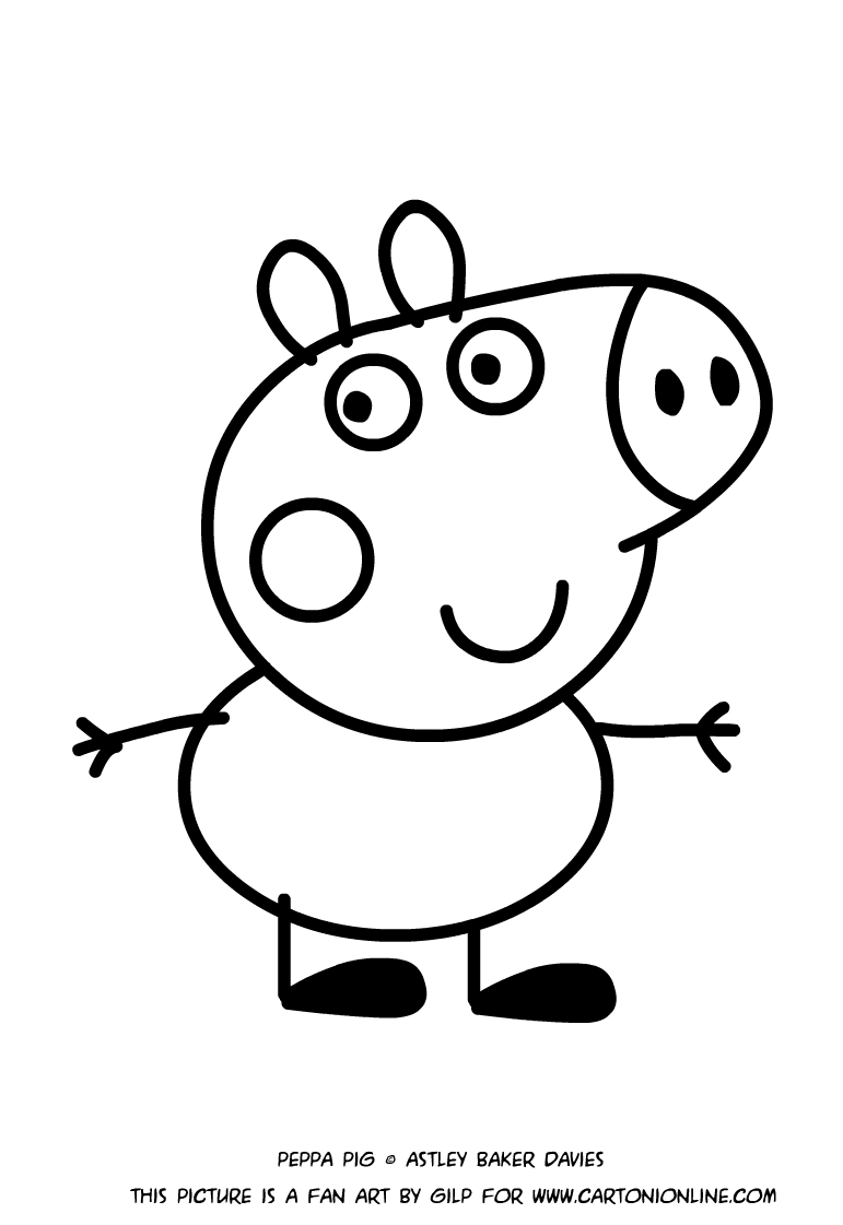 Dibujo de George Pig