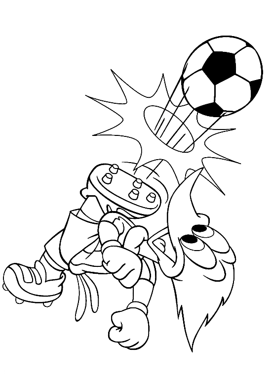Drawing 16 from Woody Woodpecker coloring page to print and coloring
