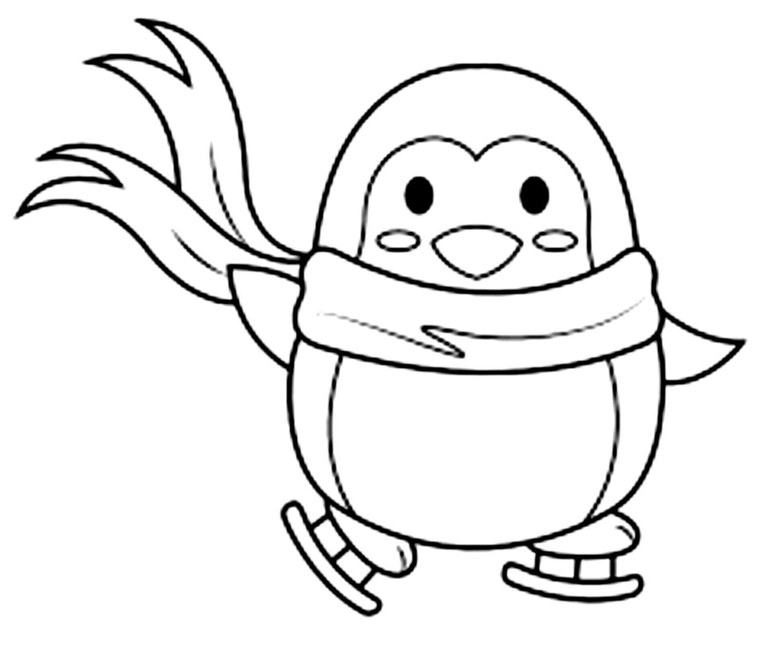 Ausmalbilder 30 von Pinguine