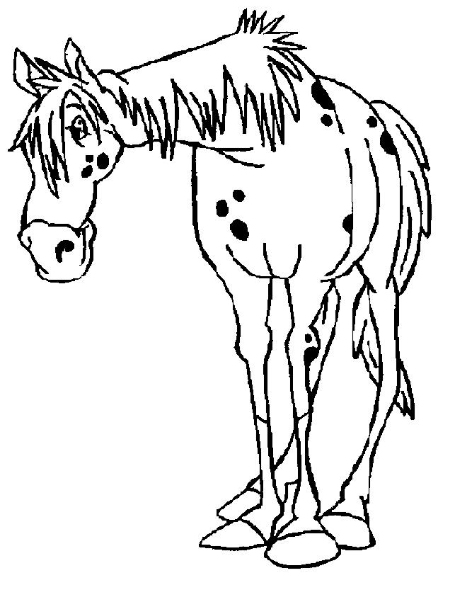 Disegno Di Zietto Il Cavallo Di Pippi Calzelunghe Da Colorare