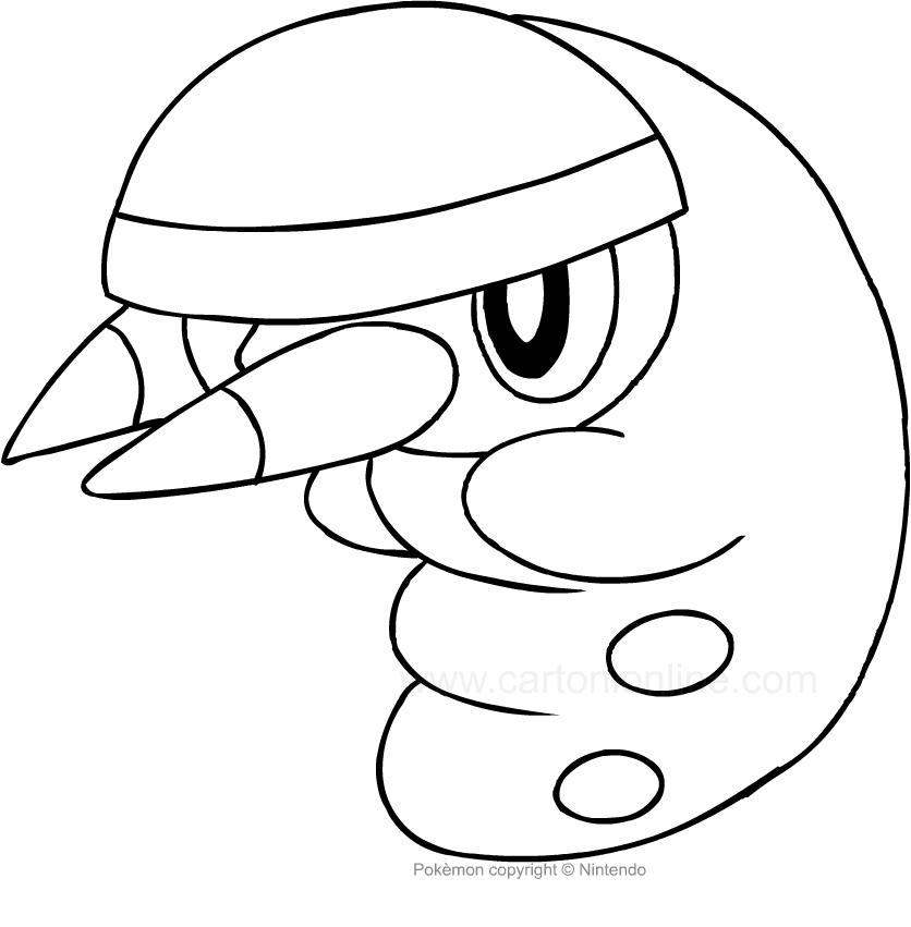 Disegno Di Grubbin Dei Pokemon Da Colorare