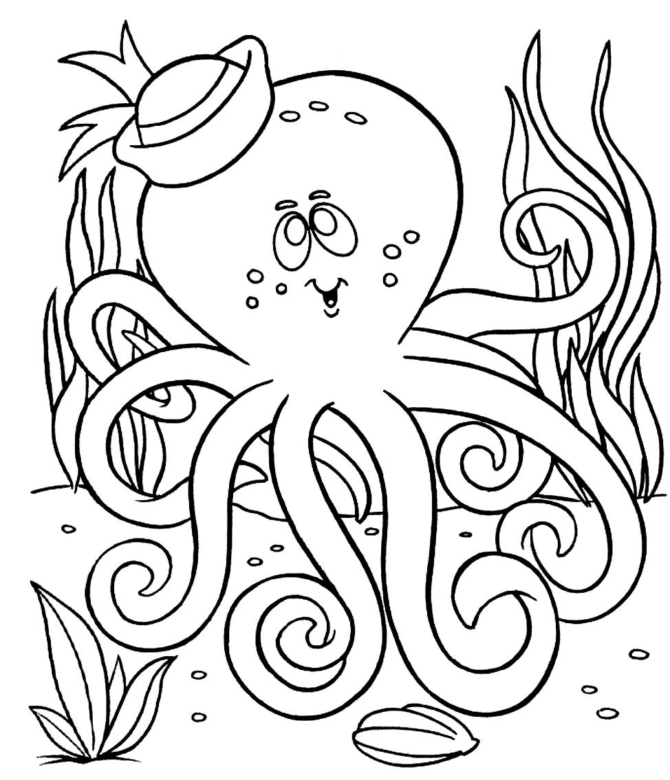 Coloriage22desOctopodes imprimeretcolorier