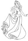 Disegni Della Principessa Aurora Da Colorare