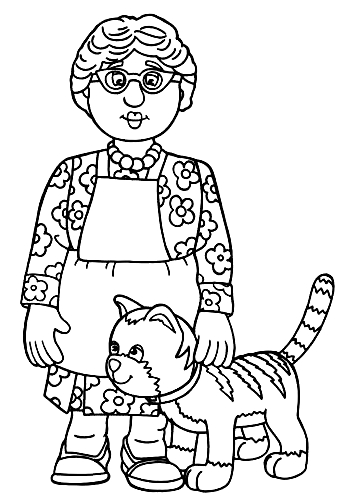 Drawing 8 from Fireman Sam coloring page to print and coloring