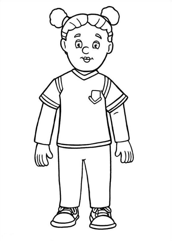 Drawing 20 from Fireman Sam coloring page to print and coloring