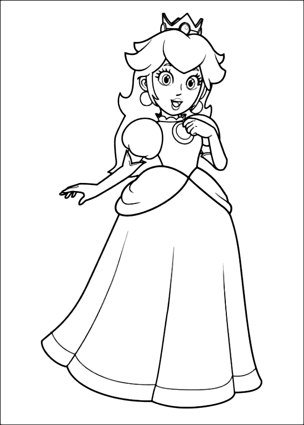 Disegni Da Colorare Super Mario