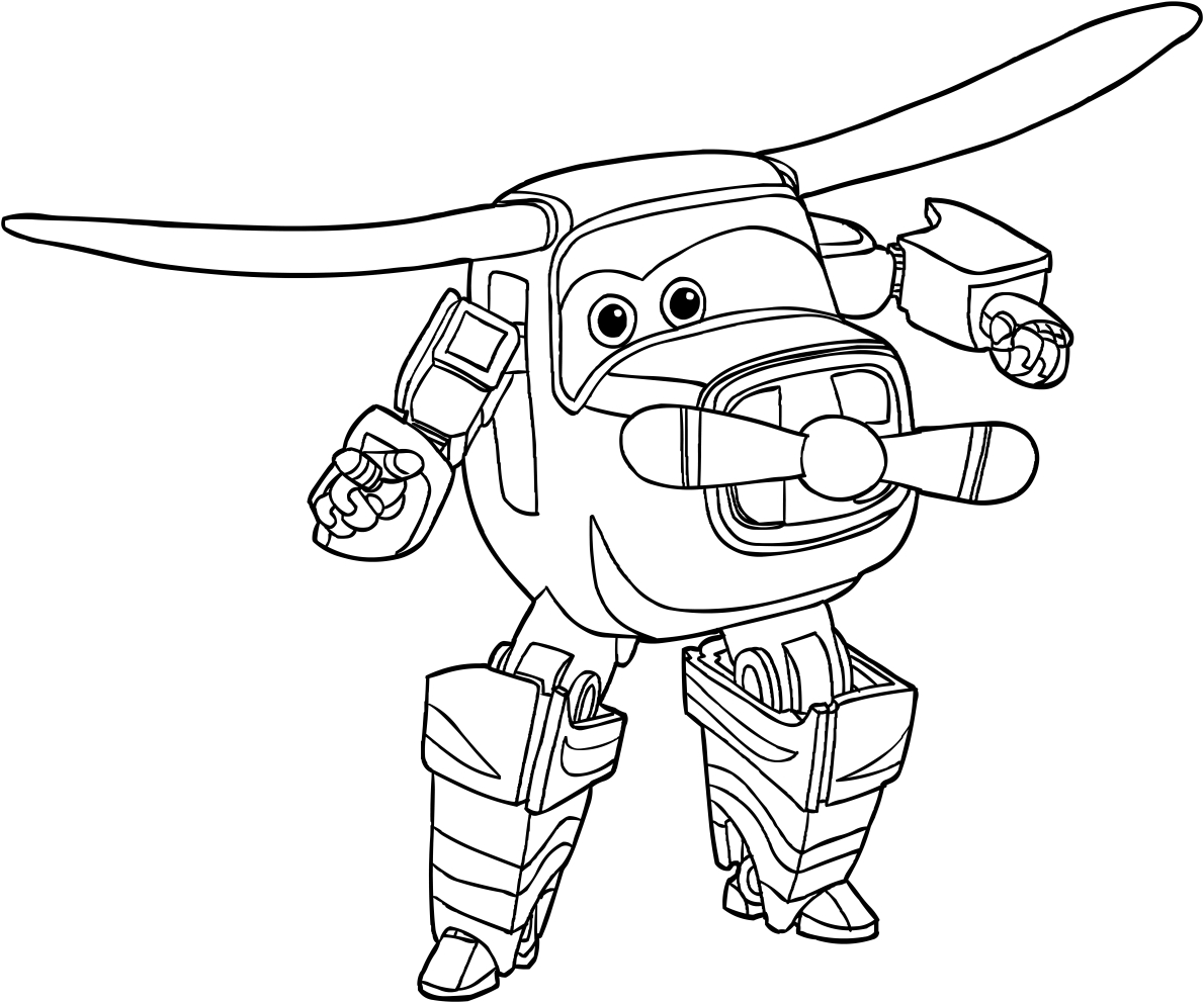 Disegno di bello dei super wings da colorare for Disegni da colorare super wings