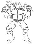 Disegni Delle Tartarughe Ninja Da Colorare