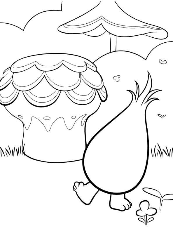 Coloriage 13 de Trolls à imprimer et colorier
